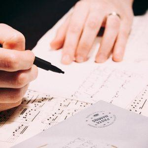 כתיבת שיר בהזמנה לאירוע